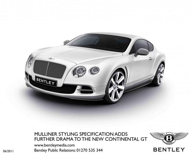 Extrovertido y ostentoso: Nuevos paquetes para el Bentley Continental GT