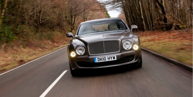 Bentley Mulsanne diesel y en version larga