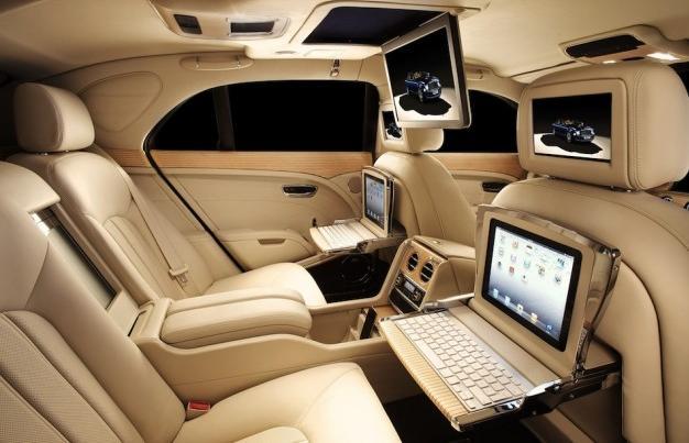 El lujo a todas luces del Bentley Mulsanne
