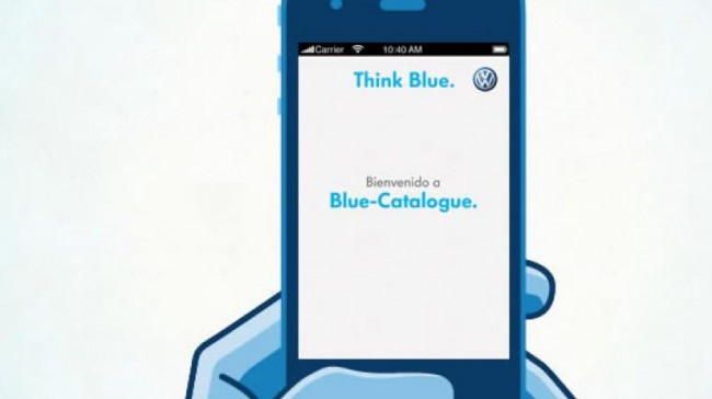 Volkswagen presenta el Blue Catalogue
