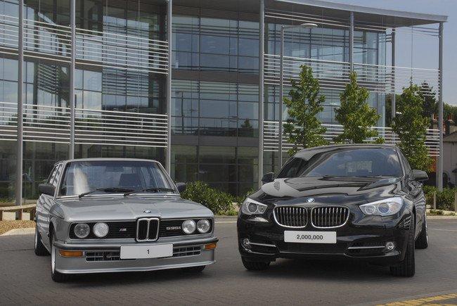 BMW: 30 años y 2 millones de coches vendidos en Gran Bretaña