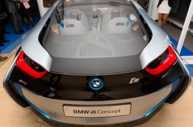 BMW i Concept en España