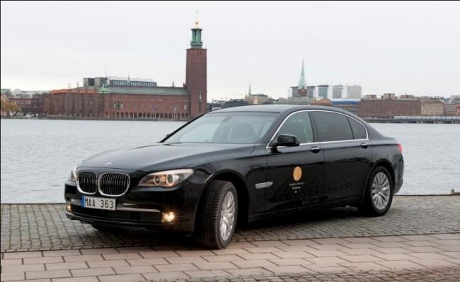 El BMW Serie 7 a la altura de los Premios Nobel