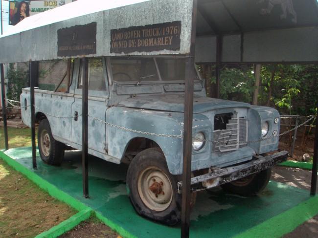 El Land Rover de Bob Marley, para restaurar…