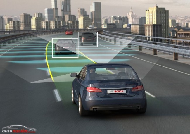 Bosch nos muestra el futuro de la circulación: Sistema autónomo de conducción