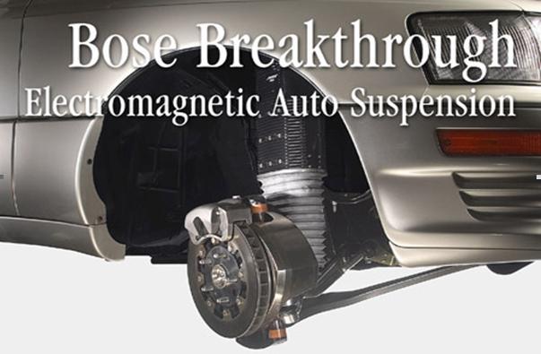 Bose: Suspensión electromagnética para vehículos. Parte I