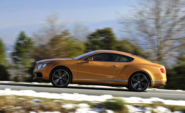 Bentley despliega sus armas en el mercado ruso
