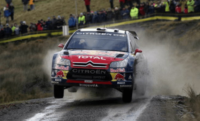 Robert Kubica con Citroën
