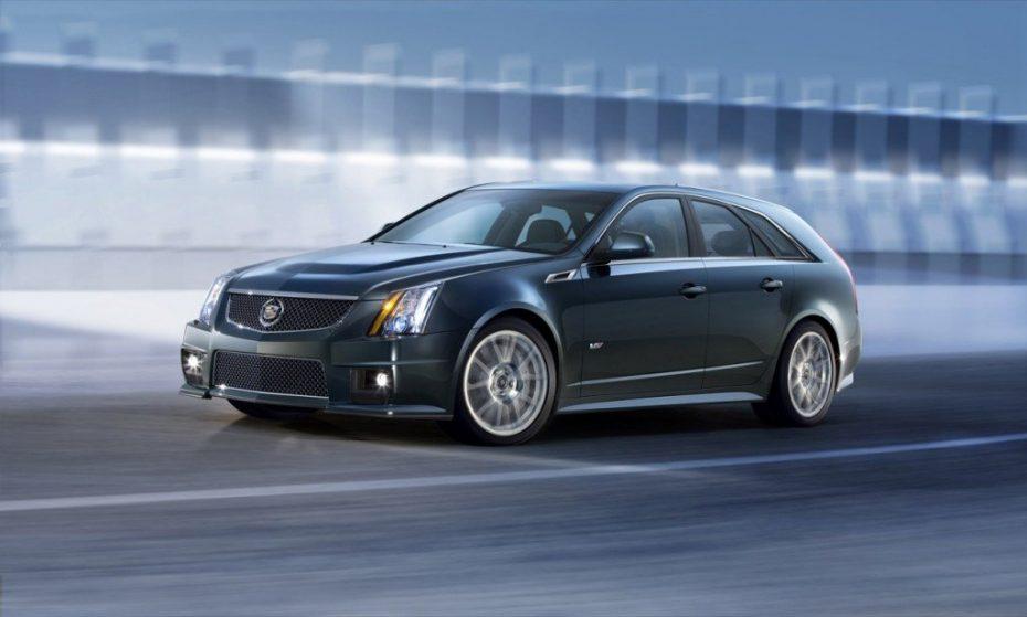 Cadillac CTS-V Sport Wagon, desbocando 564cv