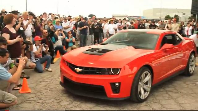 Primer vídeo oficial del Chevrolet Camaro ZL1