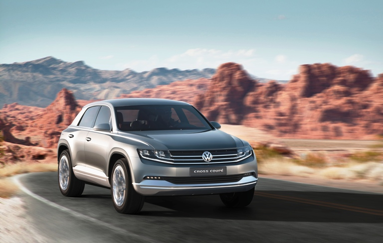 Nuevo Volkswagen Cross Coupé: El Evoque alemán