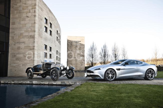 Aston Martin celebra en 2013 su centenario