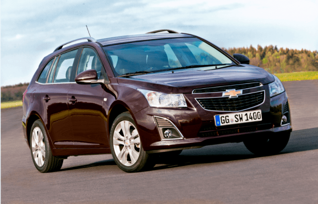 Resultados de ventas de Chevrolet Europa