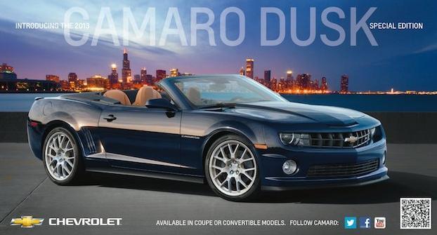El Chevrolet Camaro prepara una edición especial para 2013