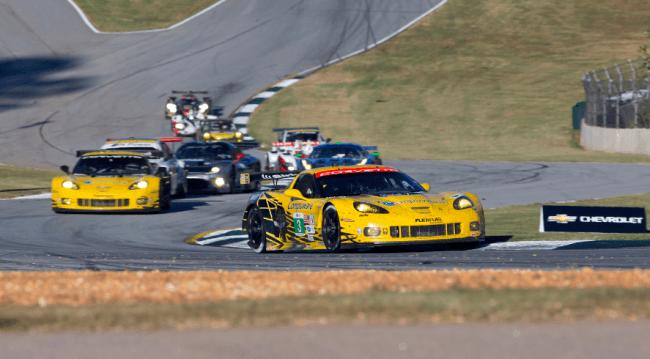 Antonio García y Corvette Racing segundos en el Petit Le Mans