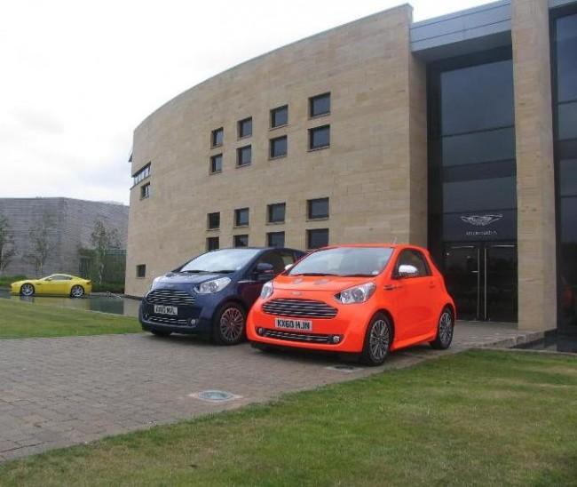 El Cygnet de Aston Marin en el EcoRally de Bridgestone