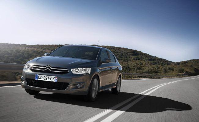 Citroën vende un 11,8% menos que en 2011