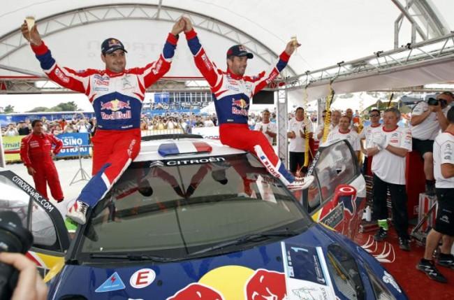"""El """"Rallye de los Dioses"""" también lleva el nombre de Citroën"""