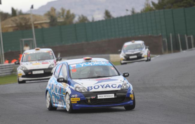 Marc Guillot, campeón de la Clio Cup España 2012