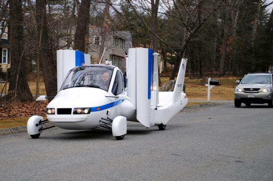 Transition, el coche volador