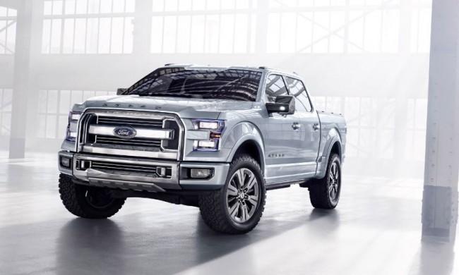 Ford Atlas Concept: ¿El Pick Up del Futuro?