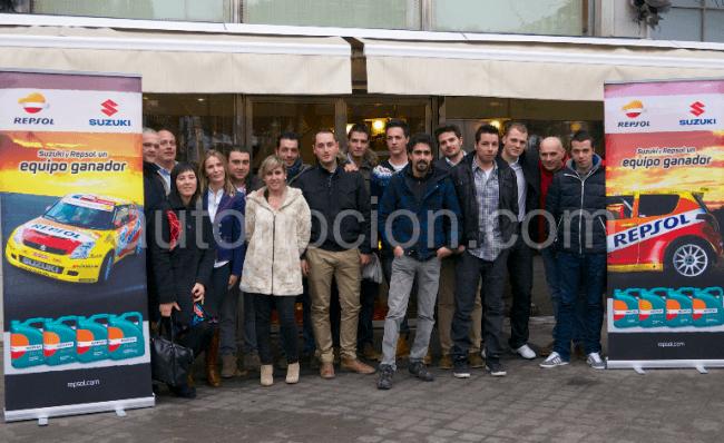 Suzuki Ibérica entregó los premios finales de la Copa y Trofeo Suzuki Swift