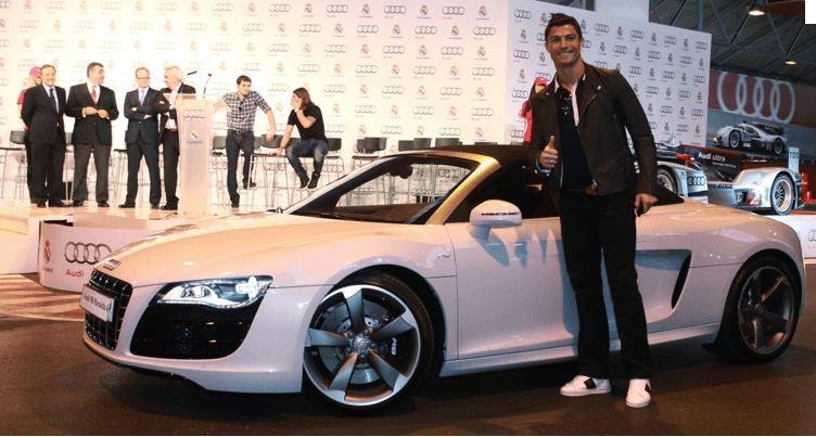 ¿Qué se esconde en el garaje de Cristiano Ronaldo?