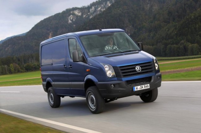 llegan los primeros volkswagen crafter biturbo. Black Bedroom Furniture Sets. Home Design Ideas