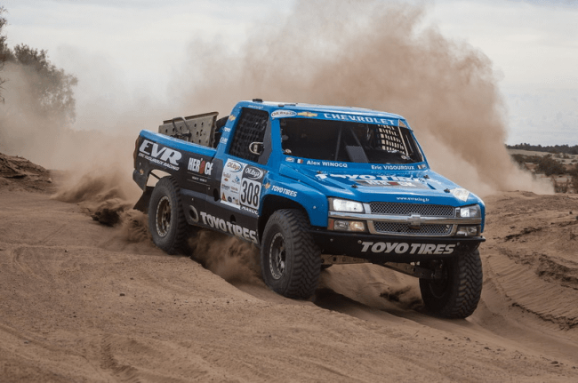 Una visual previa a las cifras del Dakar 2013