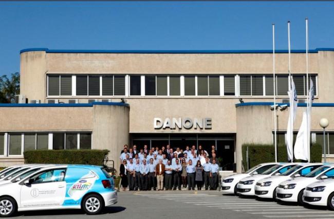 Para crecer: Un Polo BlueMotion y un Danone