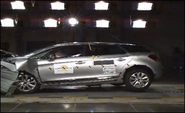 Las cinco estrellas Euro NCAP del Citroën DS5