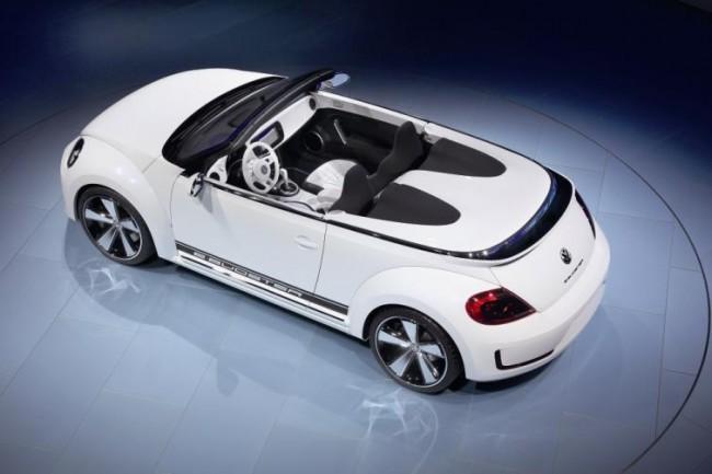 Volkswagen presenta el E-bugster en Pekín