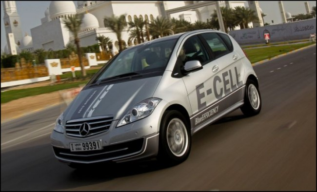 Se entrega el primer Mercedes Clase A eléctrico en España