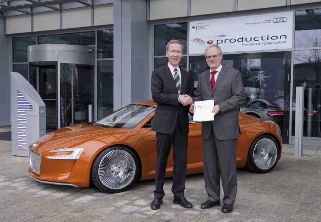 El futuro eléctrico de Audi: eProducción