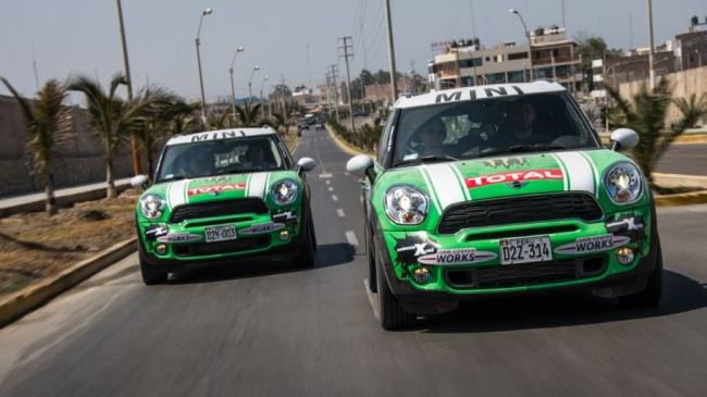 El MINI Countryman en el Rally Dakar 2013