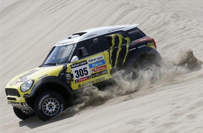 Paris Dakar: Arequipa-Arica 5ª Etapa