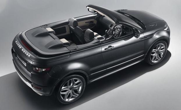Descubierto: Range Rover Evoque Convertible Concept