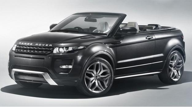 El Range Rover Evoque Convertible Concept nos muestra sus cualidades