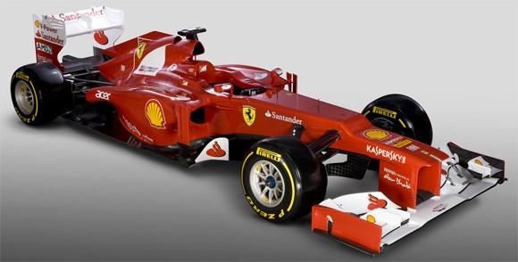 Ferrari presenta su Fórmula 1: el F2012