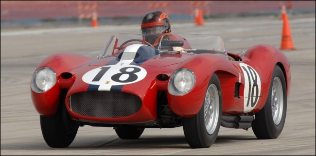 El Ferrari 250 Testarossa hace historia