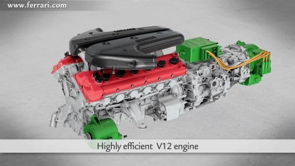 Ferrari presenta la mecánica de su F70, HY-KERS