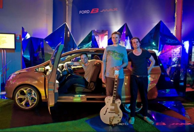 Ford presenta el nuevo B-MAX en Casa Decor