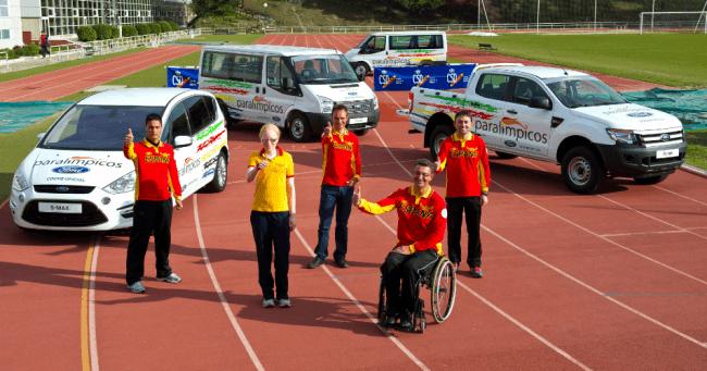Ford, coche oficial del equipo paralímpico español