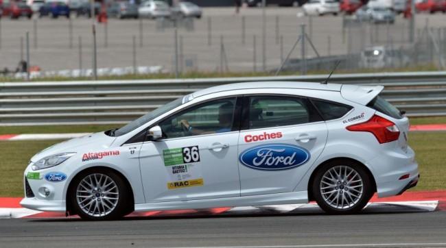Los Ford Focus 1.0 EcoBoost Vencen y Convencen en el Eco Rallye Vasco