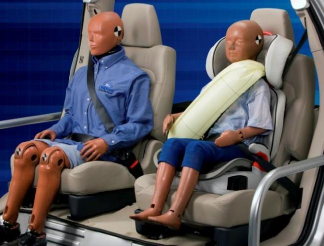 El nuevo cinturón-airbag del Ford Mondeo