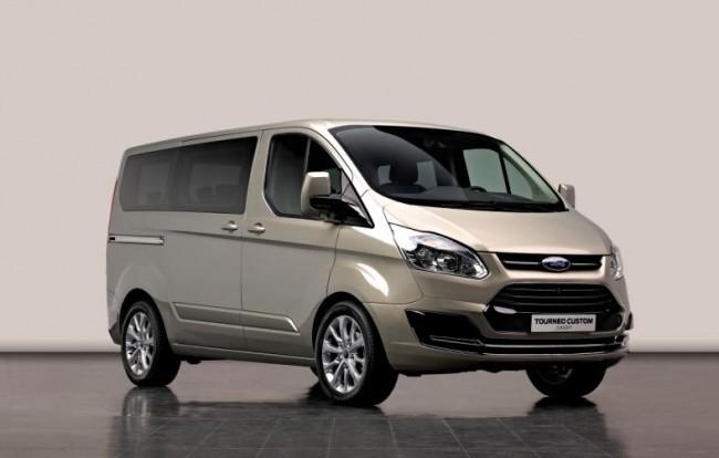 Presentación mundial de Ford Tourneo Custom Concept