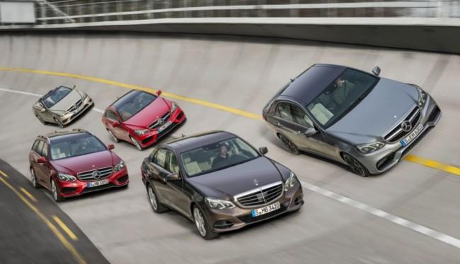 Nuevo Clase E, la punta de Iceberg de la gama Mercedes-Benz 2013
