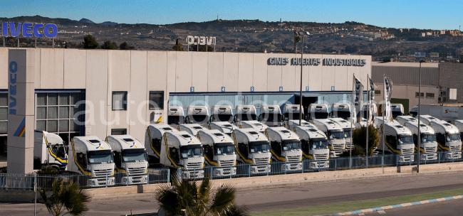 Iveco vende de golpe 247 unidades del EcoStralis