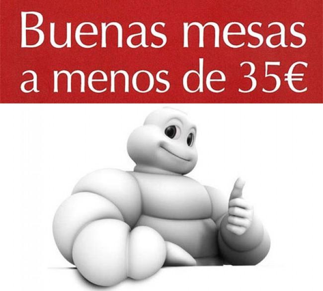 Michelin lanza la nueva edición de la guía Buenas Mesas a menos de 35€