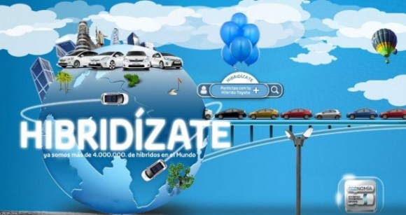 Toyota España lanza la campaña #Hibridízateconmigo en Twitter